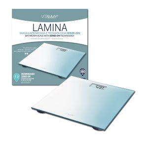 Cantar corporal electronic Lamina Vitammy Albastru
