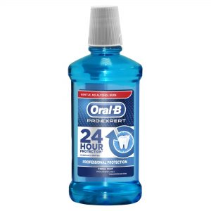 Apa de gura Oral B Pro Expert Fresh Mint 500ml