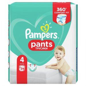 Scutece Pampers Pants Nr 4, Maxi 9-15kg, 24 Buc