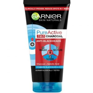 Garnier pure active charcoal 3in1