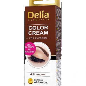 Delia vopsea sprancene Brown