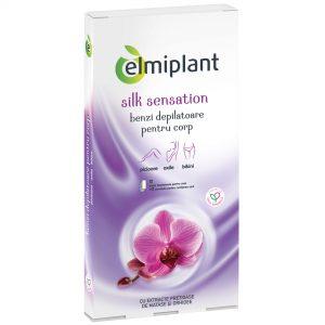 Benzi depilatoare corp Elmiplant Silk Sensation 12buc