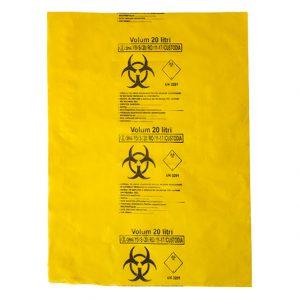 Saci galbeni Biohazard