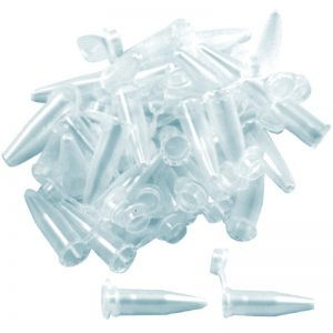 Micro tub de test conic cu capac, 1.5ml, tip Eppendorf, din polipropilena, 1000 bucati/punga